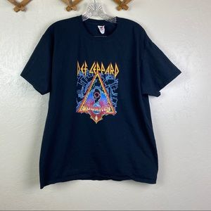 CONCERT TEE DEF LEPPARD AND JOURNEY 2018 TOUR SZ L